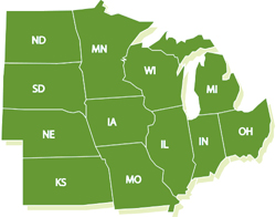 north central states